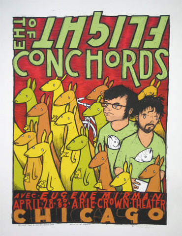 Flight of the Conchords (red)