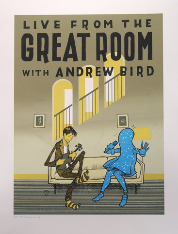 Live from the Great Room, with Andrew Bird