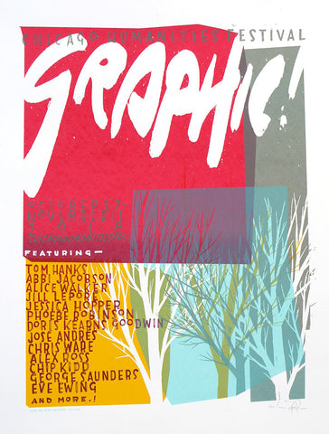 Chicago Humanities Festival - Graphic!