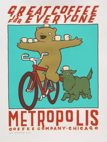 Metropolis Coffee 2014 - Bike Delivery!