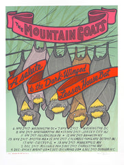 The Mountain Goats - Tour 2017, Second Edition