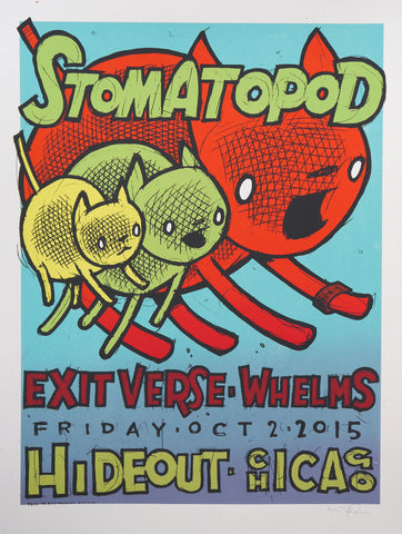 Stomatopod, Exit Verse, Whelms - Chicago