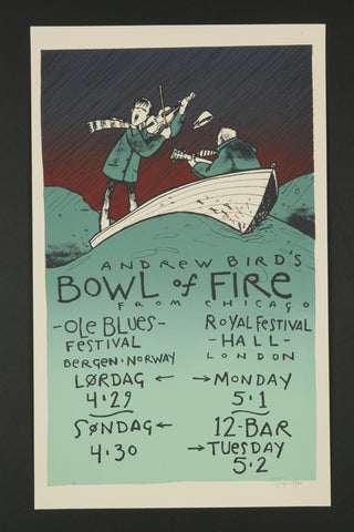 Andrew Bird's Bowl of Fire, Bergen / London 2000