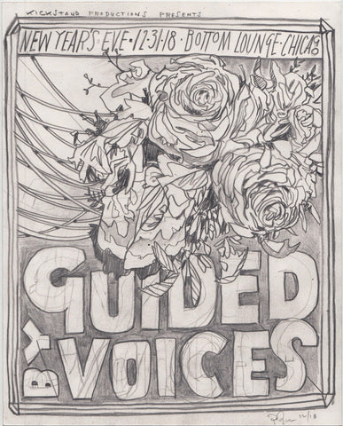 Original Drawing: Guided By Voices 2018
