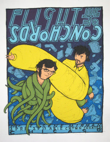 Flight of the Conchords (blue)