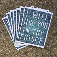 """I Will Hug You"" Postcard Set"