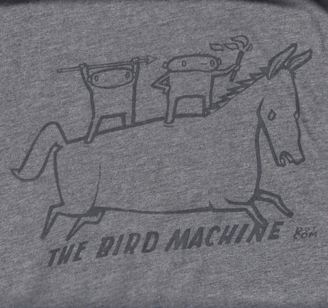 "Bird Machine ""Cave Painting"" t-shirt"