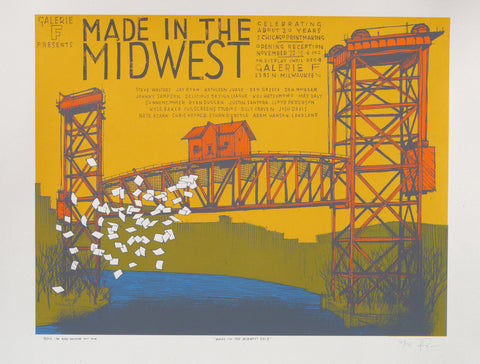 Made in the Midwest (Amtrak Bridge) Art show