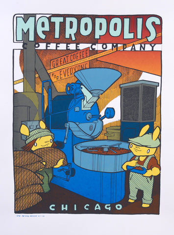Metropolis Coffee 2018 - Roasterie