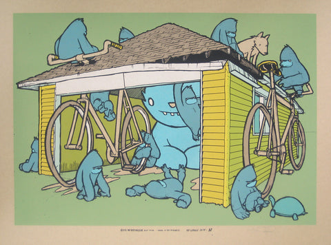 The Garage Suite, Print H