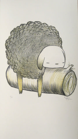 Sleep Sheep - Lithograph