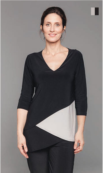 Sympli Matrix Layer Top color block