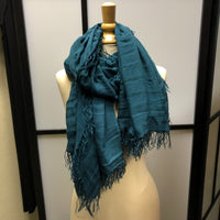 Sea Blue Scarf