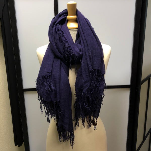 Blackberry Purple Scarf