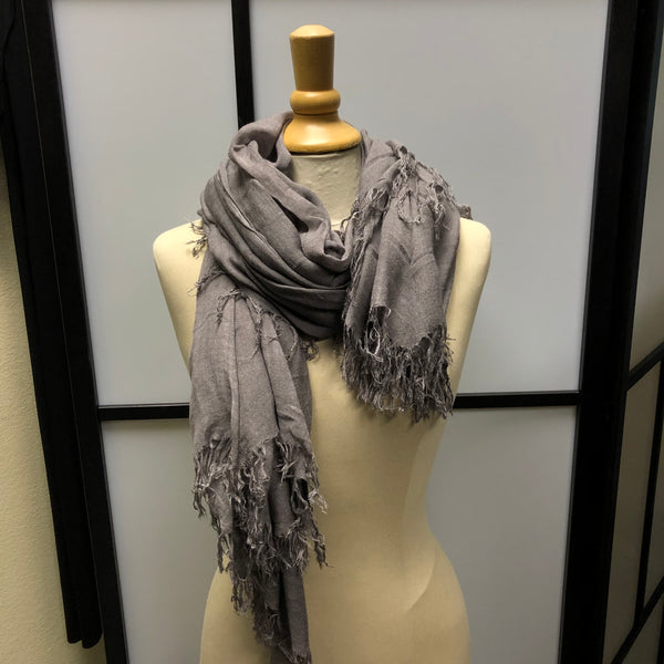 Medium Grey Scarf