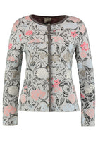 Cardigan Floral Pattern (Grey) by IVKO