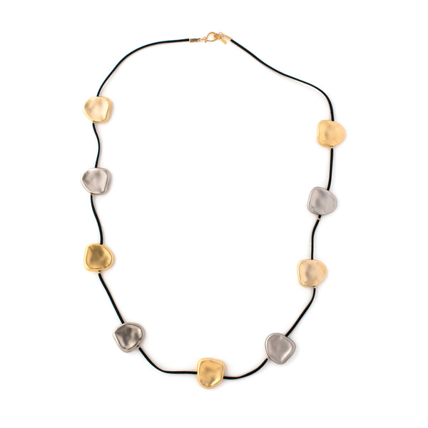 Necklace Black/Silver/Gold