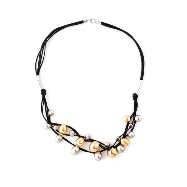 Necklace Silver/Gold/Black