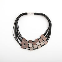 Necklace Silver/Black