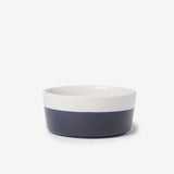 Midnight Blue Ceramic Dipper Dog Bowl