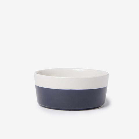 Dipper Ceramic Dog Bowl Midnight