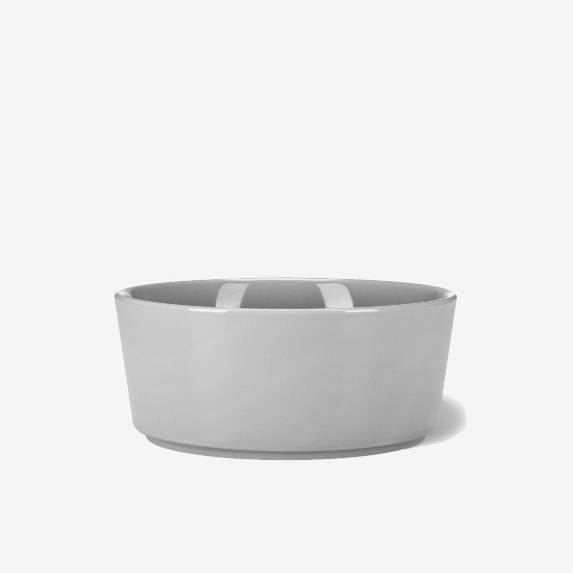 Simple Solid Bowl Light Grey - Waggo