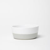 Dipper Ceramic Dog Bowl Hello Yellow - Waggo