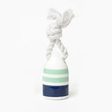 Waggo Floating Nautical Rubber Dog Toy Mint Buoy