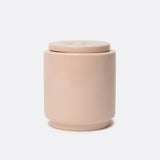 Waggo Gloss Ceramic Dog Treat Jar Rose