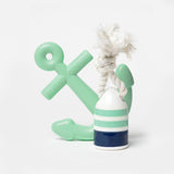 Waggo Nautical Water Dog Chew Set Mint Green