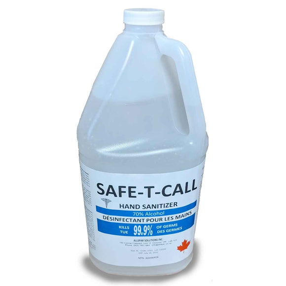 Hand Sanitizer Safe-T-Call