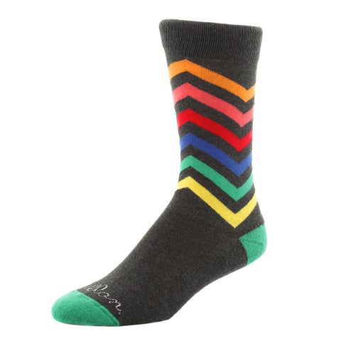 kellan apparel carnival grey socks