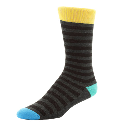 kellan apparel tango zebra black socks