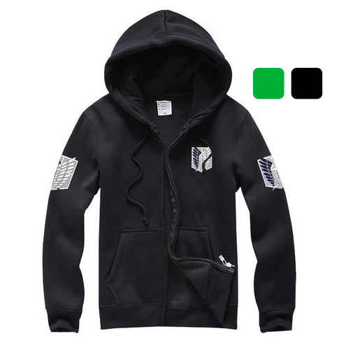 Attack On Titan Survey Corps Hoodie - Unisex