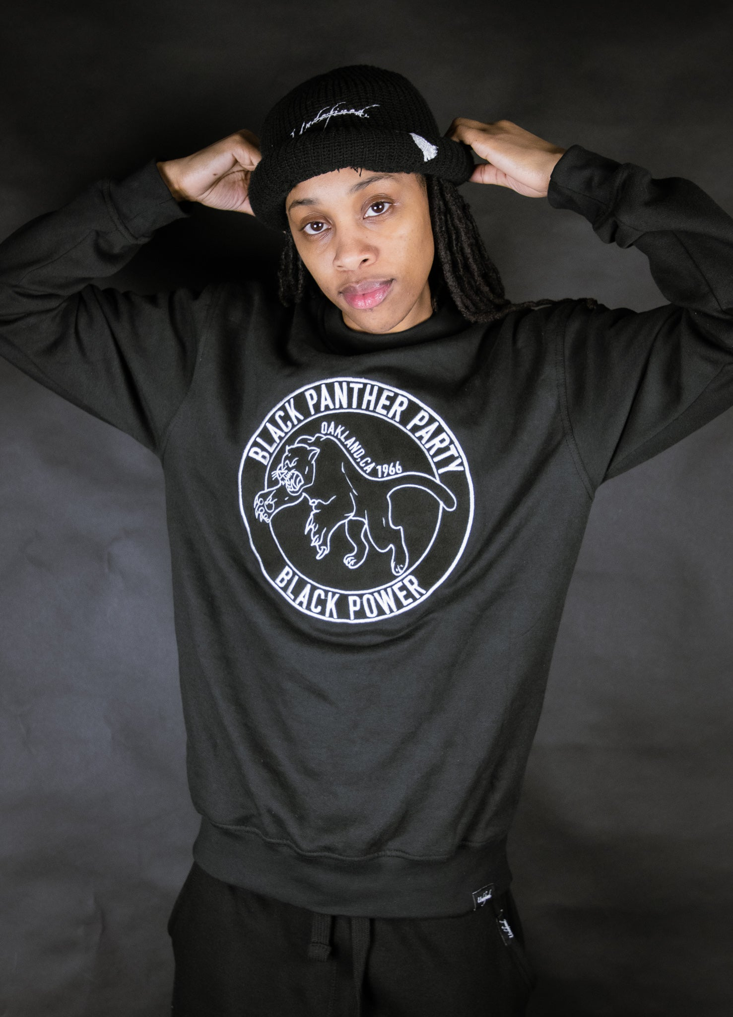 Black Panther Party Crewneck (Coming Dec 7)
