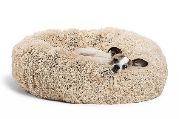 Fluffy heaven cuddler for dogs