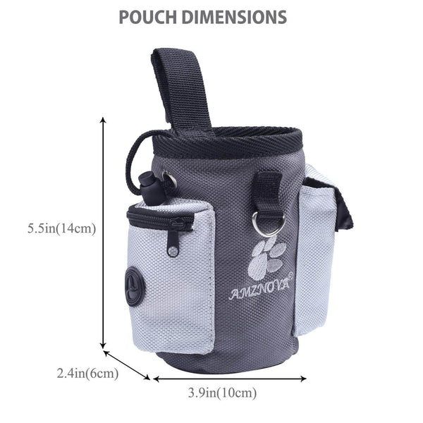 Dog agility treat bag size