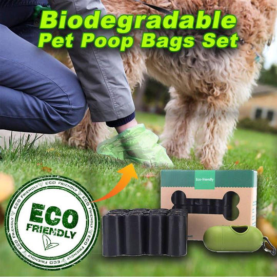 Biodegradable Eco friendly dog poop bag