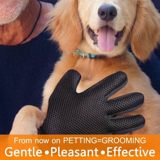 Grooming gloves for dogs