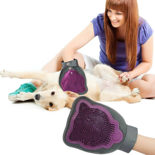 Deshedding Mitten for Pet Fur