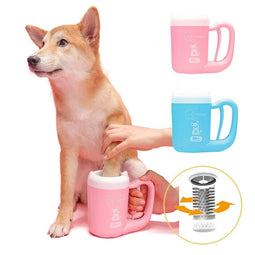 paw cleaner cup for dogs