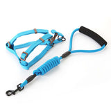 step in harness leash combo