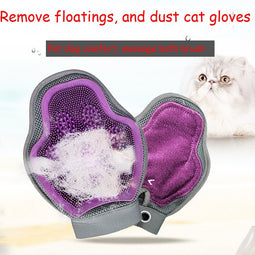 cats grooming gloves