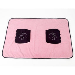 absorbent quick dry microfiber dog towel