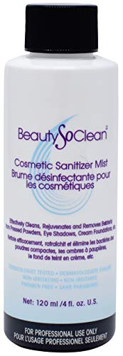 BeautySoClean Cosmetic Sanitizer Mist - WINK EYELASH BAR & MAKEUP STUDIO