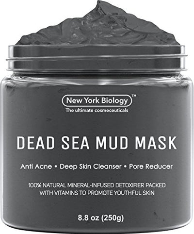 Dead Sea Mud Mask, Tightens Skin for A Healthier Complexion - WINK EYELASH BAR & MAKEUP STUDIO