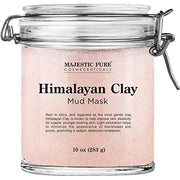 Himalayan Clay Mud Mask for Face and Body - Exfoliating and Facial Acne Fighting Mask - WINK EYELASH BAR & MAKEUP STUDIO