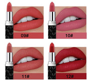 9 Vivid Velvet Longwear Lip Stick Colors - WINK EYELASH BAR & MAKEUP STUDIO