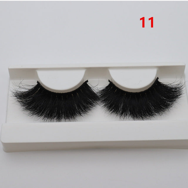 XX - 3D 25 mm Mink POWER LASHES - WINK EYELASH BAR & MAKEUP STUDIO