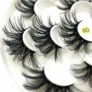 25mm 3D Mink Natural  Eyelashes - 7 pairs - WINK EYELASH BAR & MAKEUP STUDIO